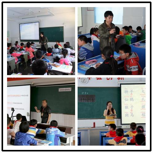 """无锡市惠山小学老师使用""""焦点智慧教室""""上课"""